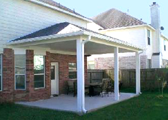 Custom Covered Patio